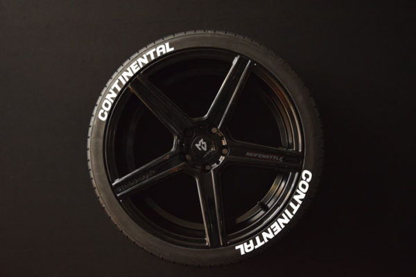 Tirestickers - Tirelabeling-Continental-white-8er