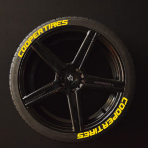 Tirestickers - Tirelabeling-Cooper-Tires-yellow-8er