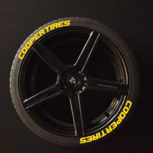 Tirestickers - Tirelabeling-Cooper-Tires-yellow-8er