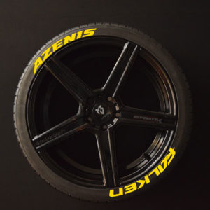 Tiresticker-Falken-+-Azenis-yellow-8er