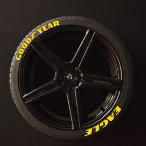Tirestickers - Tirelabeling-GOOD-YEAR-EAGLE-yellow-8er