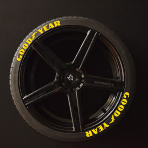 Tirestickers - Tirelabeling-GOOD-YEAR-yellow-8er