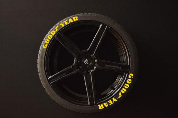 Tirestickers - Tirelabeling-GOOD-YEAR-yellow-8er