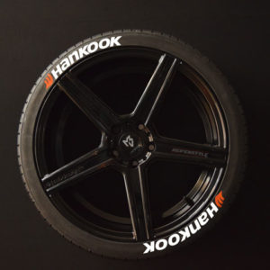 Tirestickers - Tirelabeling-Hankook-white-8er