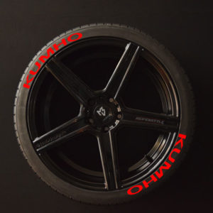 Tirestickers - Tirelabeling-KUMHO-red-8er