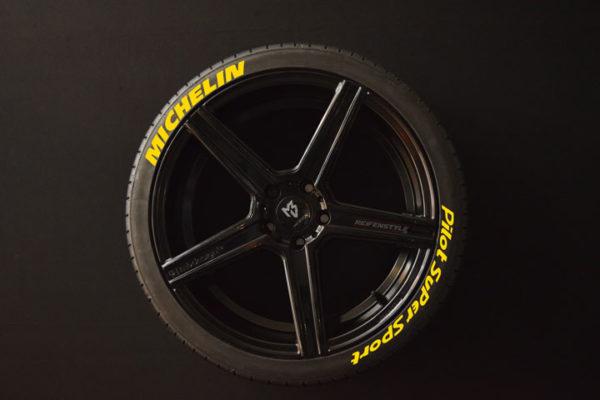 Tirestickers - Tirelabeling-Michelin-Pilot-Super-Sport-yellow-8er