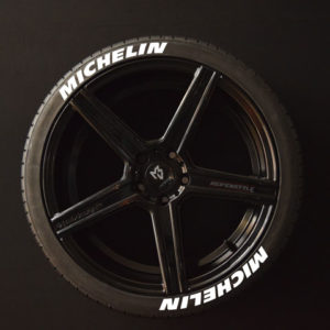 Tirestickers - Tirelabeling-Michelin-white-8er