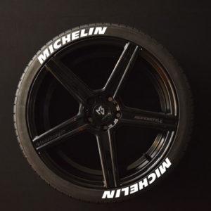 Tirestickers - Tirelabeling-Michelin-white-8er