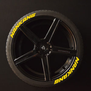 Tirestickers - Tirelabeling-NANKANG-yellow-8er