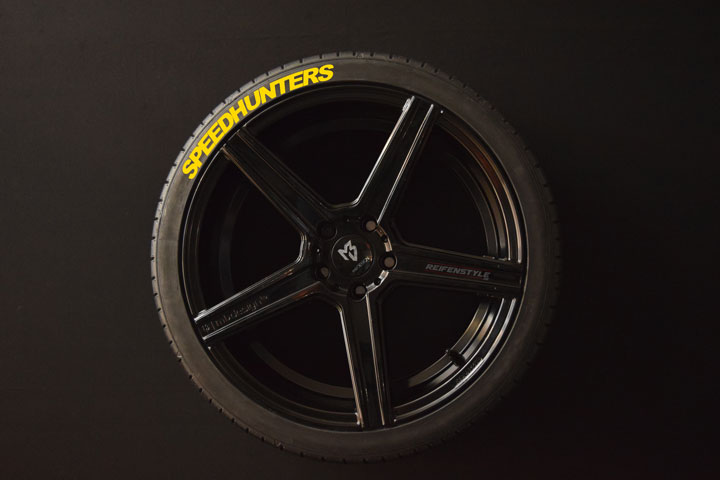 Tirestickers - Tirelabeling-Speedhunters-yellow-4er
