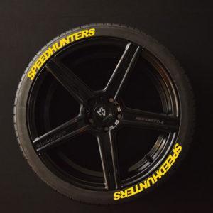 Tiresticker-Speedhunters-yellow-8er