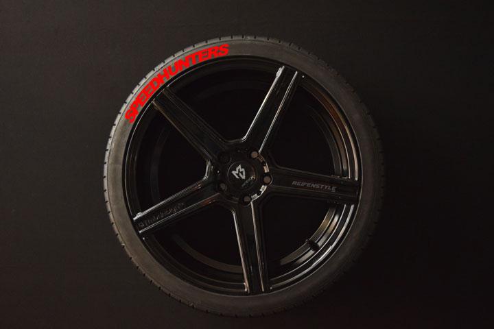 Tirestickers - Tirelabeling-Speedhunters-red-4er