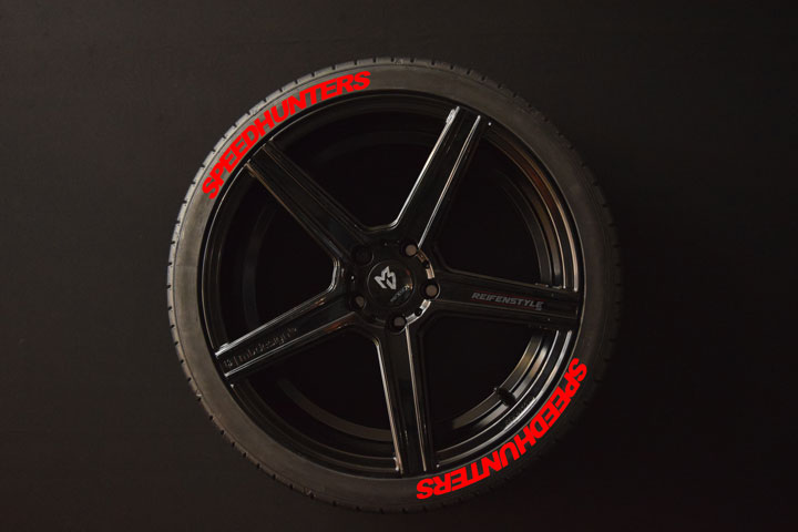 Tirestickers - Tirelabeling-Speedhunters-red-8er