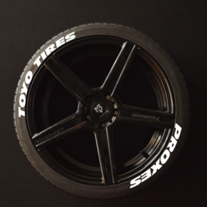 Tirestickers - Tirelabeling-TOYO-TIRES-PROXES--WIDE-white-8er