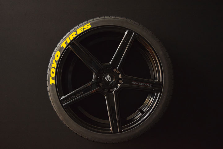 Tirestickers - Tirelabeling-TOYO-TIRES-WIDE-yellow-4er