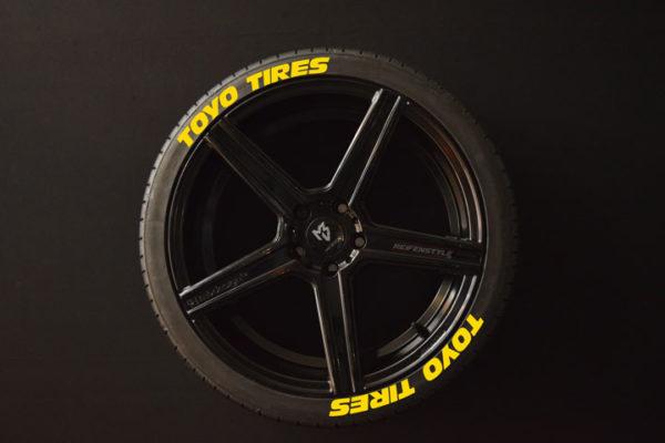 Tirestickers - Tirelabeling-TOYO-TIRES--yellow-8er
